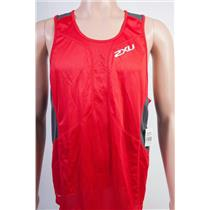 2XU Comp Run Singlet Men's Red