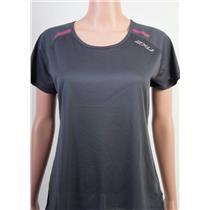 2XU GHST Short Sleeve Top Womens's Charcoal