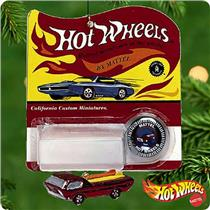 Hallmark Keepsake Ornament 2000 Hot Wheels 1968 Deora (Red Version) - QXI6891-DB