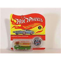 Hallmark Keepsake Ornament 2000 Hot Wheels 1968 Deora Green Version #QXI6891-DB