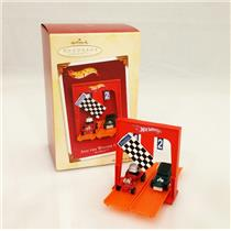 Hallmark Keepsake Ornament 2005 And The Winner Is... - Hot Wheels - #QXI6195