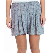 Sz L NEW Stillwater The Loose Shorts in Black/White Woven Aztek Zig Zag Pattern