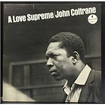 John Coltrane A Love Supreme VG 1965 Mono Impulse USA A-77 Lp RVG Orange/Black