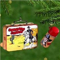 Hallmark Keepsake Ornament 2000 Hopalong Cassidy - Lunch Box Set - #QX6714-SDB