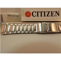 Citizen Watch Band JR3000-69E Bracelet ECO Drive Skyhawk All Steel Silver Color