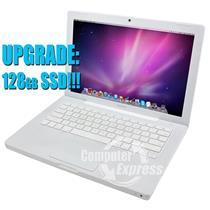 "Apple Macbook Core 2 Duo 13.3"" 2.1Ghz 2GB 128GB SSD A1181 MB402LL/A WHITE [56]"