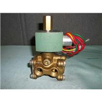 Used Asco 8316G2 Solenoid Valve 3 Way 1120V 3/8""