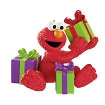 Carlton Heirloom Ornament 2013 Elmo with Presents - Sesame Street - #CXOR054D