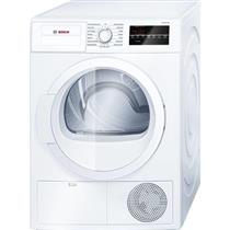 """Bosch 300 Series 24""""  Ventless Front Load Electric Dryer WTG86400UC White"""