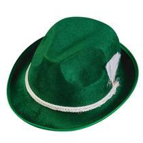 Green Oktoberfest Alpine Adult Costume Hat