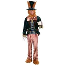 Forum Alice In Wonderland Men's March Hare Bunny Rabbit Adult Costume