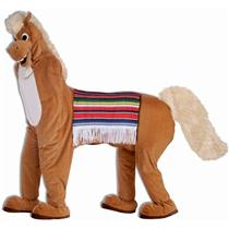Forum Novelties Men's Two Man Horse Adult Parade Mascot Costume