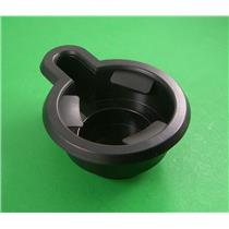 Southern Comfort Conversion 284388 Drop-in RV cup holder w/ handle recess black