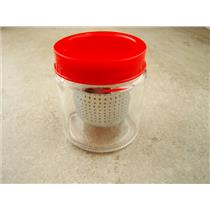 Gold Nugget And Jewelry Cleaner - Glass Bottle With Removable Strainer