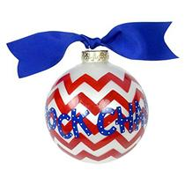 Coton Colors Ornament 2013 University of Kansas - Rock Chalk Jayhawk UKAN-CHEV1