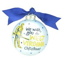 Coton Colors Ornament 2013 We Wish You a West Virginia Christmas - #WVA-WISH1