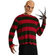 Freddy Krueger Economy Costume Sweater and Mask Size Standard
