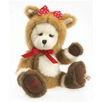 2012 Ltd Boyds Bears Plush Clarice Holiday Bear - Rudolph Collection - #4029427