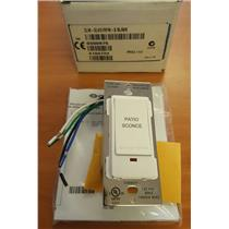 Crestron CLW-SLVD1RFW-S Slave White Dimmer Switch - Marked Patio Sconce - NEW
