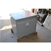 75 KVA, ACME T-3-79522-3S TRANSFORMER, HI: 600V WITH FC TAPS, LO: 480Y/277V