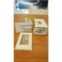 Crestron B-G1-FPAR-W White Light Switch Face Plate 6500554 - NEW