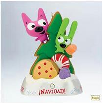 Hallmark Magic Ornament 2011 Es Navidad - Hoops & Yoyo - #QXG4877-SDB