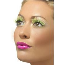 Neon Yellow False Eyelashes