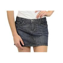 26 People's Liberation Jeans Dark Wash Star Flap Pocket Tanya Denim Mini Skirt