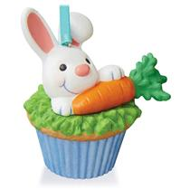 Hallmark Series Ornament 2016 Keepsake Cupcakes #9 - Some Bunny to Love #QHA1044