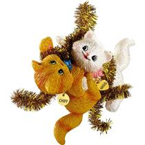 Carlton Series Ornament 2012 Merry Mischief Makers #17 - Miss and Chiff CXOR036B