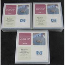 3 x New Sealed HP C7971A LTO1 Ultrium Data Cartridges 200GB
