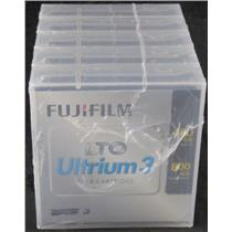 5 New Sealed Fujitsu LTO Ultrium 3 Data Cartridges 400GB Native 800GB Compressed