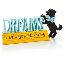 Hallmark Dreams Are Worth Chasing Wizard of Oz Toto Silhouette Figurine #WOZ1008