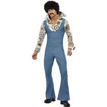 70's Male Groovy Dancer Adult Costume Size XL