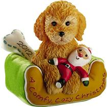 Carlton Series Ornament 2012 Puppy Love #12 - Labradoodle - #CXOR037B