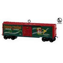 Hallmark Keepsake Ornament 2009 Holiday Boxcar - Lionel Trains - #QXI1095