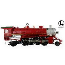 Hallmark Ornament 2009 Lionel Trains #14 - Holiday Red Mikado Locomotive #QX8602