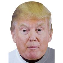 Male Presidential Candidate Donald Trump Celebrity Politician Card Face Mask