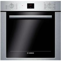 BOSCH 500 Series HBE5451UC 24 Inch  2.8 cu. ft Single Electric Wall Oven SS IMGS