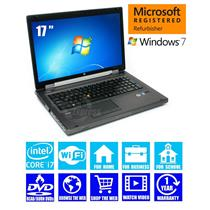 "HP i7 Laptop PC 8760w Workstation 17"" 4GB 320GB DVDRW NVIDIA 1 YR Warranty [56]"