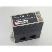 Daifuku Machinery Works, LTD OVL-CT Current Transformer 600V/6A, 1 Wiring Turn