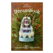 2016 Hallmark Club Edition Dream Book 97 Color Pages - Brand New - #CDB2016