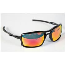 Oakley Triggerman Sunglasses Polished Black / Ruby Iridium