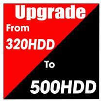Hard Drive Upgrade 500GB