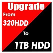Hard Drive Upgrade 1000GB