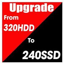 Hard Drive Upgrade 240GB SSD