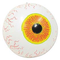"Inflatable Giant Eyeball 16"" Creepy Halloween Pool Party Beach Ball Decoration"