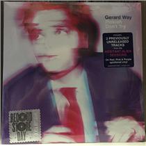 "Gerard Way - Pinkish/ Don't Try - NEW SEALED 7"" 45 Rpm RSD 2016 Splatter Vinyl"