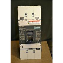 Siemens NLG3F600 Circuit Breaker with CLT3B600 Trip Unit, 600A, NLGA, For DC Use