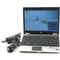 "HP EliteBook 2540p 12"" Core i7 2.1GHz 2GB 128GB SSD Laptop Adapter WiFi Web Cam"